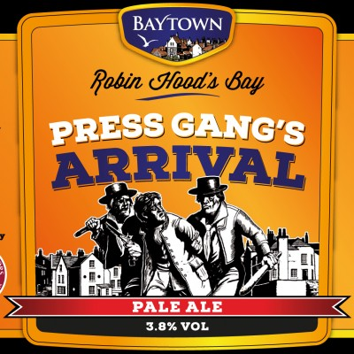 New Baytown Pale Ale Label AW